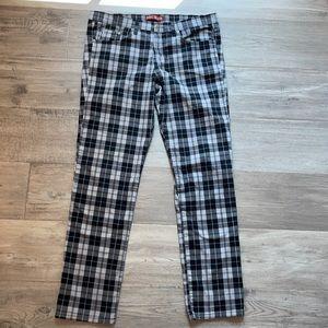 Neo Blue Black White Jeans Men's (Size 38)